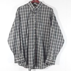 bill blass Shirts - Bill Blass plaid long sleeved buttonup shirt